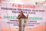 Tiga desa di Kabupaten Muba  dibantu penerangan tenaga surya