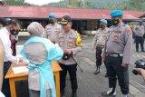 Ratusan polisi Kepulauan Sangihe tes narkoba
