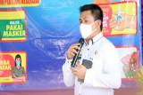 Kadis Kesehatan Pesibar tinjau pelaksanaan vaksinasi di Kecamatan Lemong