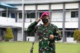 Danlantamal VIII sampaikan hasil Rapim TNI AL kepada personel