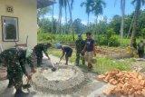 TNI berkolaborasi dengan warga sukseskan TMMD di Padang Pariaman