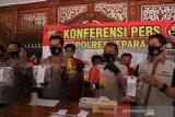 Polres Jepara ungkap 10 kasus narkoba