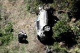 Tiger Woods kecelakaan, mobilnya terguling ke bukit curam