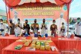 Jaringan 508 kg sabu-sabu masih bombardir pasokan narkoba di Kalsel