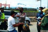 Brayy Community dan Satgas COVID-19 gebrak seribu masker di Solok Selatan