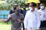 Jokowi berharap pendidikan tatap muka bisa dilakukan semester II