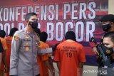 Polres Bogor tangkap sembilan tersangka curanmor