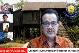 UKI: Revisi UU Otsus Papua harus menjawab masalah mendasar masyarakat