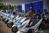Pemerintah menargetkan 2 juta sepeda motor listrik pada 2025