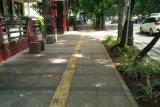Dinas Perkim bangun jalur khusus pejalan kaki
