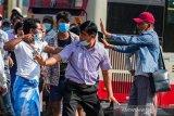 Polisi Myanmar tangkap seorang wartawan Jepang dalam aksi protes di Yangon