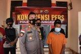 Seorang pria perokok  di Tanjungpinang jadi tersangka karhutla