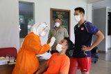 Atlet hingga tim pendukung Pelatnas PBSI disuntik vaksin COVID-19 Jumat