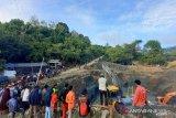 Operasi SAR pencarian penambang PETI Parimo tertimbun libatkan puluhan orang