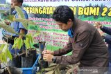Jejak Bumi Indonesia tanam puluhan ribu bibit pohon  bambu di Sumsel