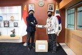 UMKM Korsel beri bantuan masker untuk WNI