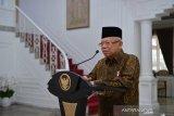 Wapres Ma'ruf Amin buka Rakernas Bank Syariah Indonesia, ini pesannya