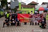Pedagang keliling di Cianjur jadi duta kampanye tertib bermasker