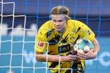 Pelatih MU Solskjaer akui terus jalin kontak dengan Erling Haaland
