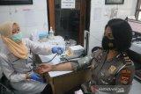 Kasatlantas Polres Lombok Barat bhakti sosial kemanusiaan donor darah