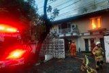 Rumah mantan Kapolda Metro Jaya Irjen Pol Firman Gani di Jaksel terbakar