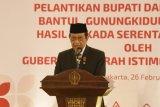 Sultan HB X minta bupati di tiga kabupaten segera belanjakan APBD