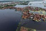 Kabupaten Pekalongan Masih Tergenang Banjir