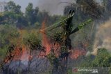 Kebakaran Lahan Meluas Di Dumai