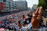 Inggris jatuhkan sanksi tambahan pada panglima tertinggi junta Myanmar