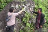 Batu Basiha keunikan alam letusan Gunung Toba