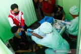 Pedagang Pasar Gede dan Klewer mulai disuntik vaksin COVID-19