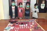 Empat terduga pengedar sabu di Sape diringkus saat pesta narkoba