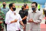 Presiden Jokowi resmikan pengoperasian KRL lintas Yogyakarta-Solo
