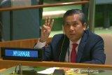 Perwakilan Myanmar tidak berpidato di Sidang Umum PBB