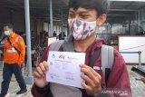 Pemeriksaan GeNose C19 bagi calon penumpang di Stasiun Purwokerto