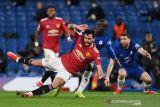 Rekor tandang MU berlanjut usai ditahan Chelsea seri