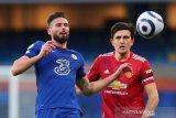 Liga Inggris - MU bermain imbang 0-0 kontra Chelsea di Stamford Bridge