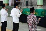 Presiden Joko Widodo bertakziah ke Mendiang anggota dewas KPK Artidjo Alkostar