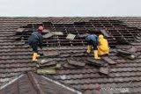 Tidak ada korban saat atap RSUD di Bogor ambruk
