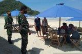 Kodim Lombok Tengah mengintensifkan prokes jelang Bau Nyale