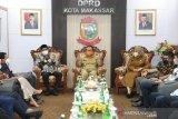 Danny Pomanto-Fatma bahas program prioritas bersama DPRD Makassar