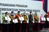 Kementerian BUMN dan KPK teken MoU Whistleblowing System