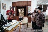 Wapres Ma'ruf Amin terima laporan izin edar GeNose dari Menristek
