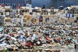 Miras cap tikus mendominasi pemusnahan barang di Bandara Manado