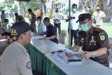 Satgas COVID-19 Kota Jayapura simulasi penegakkan hukum