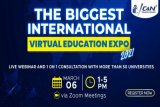 Hadiri Pameran Pendidikan ICAN: The Biggest International Virtual Education Expo 2021