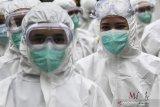 Sebanyak 1.448 pasien COVID -19 dirawat di RS Wisma Atlet kemayoran