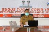 Jumlah kasus aktif COVID-19 di Sulut berkurang