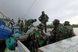 Personel TMMD Boven Digoel tiba lokasi distrik Kawagit