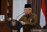 Wapres Ma'ruf Amin: RI kembali naik peringkat ke upper middle income country